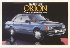 Ford Orion GL Original colour Postcard Pub. No. SP 1196 March 1986