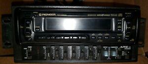 VINTAGE Pioneer KEH-M8500 Tuner Multi-CD Control FM/AM Deck Amp WITH Alpine 3311