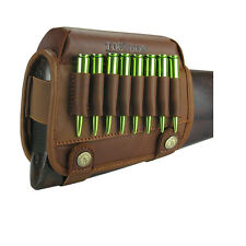 Tourbon Full Leather Rifle Cheek Piece Right-hand at US Warehouse Fast Delivery