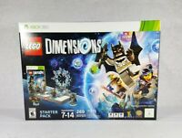 New LEGO Dimensions: Starter Pack (Microsoft Xbox 360, 2015) - Free Shipping!