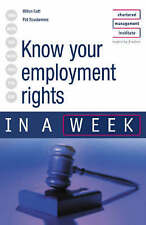 Know Your Employment Rights in a Week (In a Week S.) by Hilton Catt