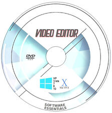 DVD AVI MPEG VIDEO MP4 Movie Editor di modifica programma software x 2-Windows & Mac