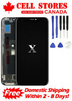 LCD Touch Screen Digitizer Display Assembly Replacement for iPhone X 10 + Tools