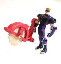 "DC Comics Brave & Bold  BATMAN villain SPORTSMASTER 5"" figure RARE & NICE"
