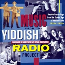 Music from the Yiddish Radio Project by Various Artists (CD, Mar-2002, Shanachie)