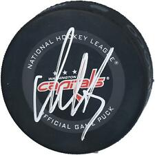 Alex Ovechkin Washington Capitals Autographed 2019 Model Official Game Puck