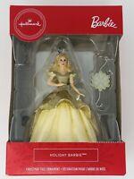 Hallmark Christmas Ornament 2020 Mattel Holiday Barbie New In hand