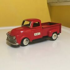 VINTAGE, FULLY OPERATIONAL, TIN ASAHI BATTERY OPERATED PICK-UP TRUCK. VERY RARE!
