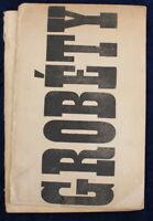 EO Numérotée & Signée par Grobéty et Pierre Bernard à Robert Droguet - 1968