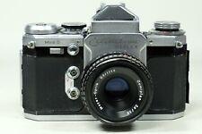 Edixa Reflex Model D with 50mm f2.8 Domiplan