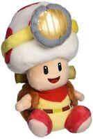 "6.5"" Super Mario Bros Sitting Pose Captain Toad Plush Toy Stuffed Doll Figure"