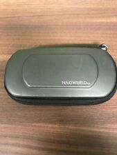 Nakiworld Soft Silver Carrying Pouch UMD For PSP KWH300 Very Good 6E