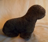 Vintage Brown Plush Seal Stuffed Animal 1960s 1970s ?