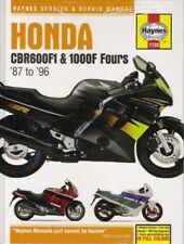 1987-1996 Honda CBR600F1 CBR1000F Fours Haynes Service Repair Shop Manual 39379