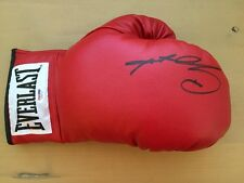 SUGAR RAY LEONARD SIGNED AUTOGRAPHED EVERLAST LACE UP BOXING GLOVE PSA/DNA