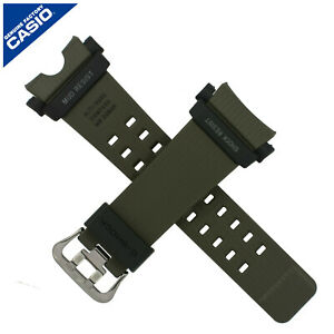 Genuine Casio Watch Strap Band GG-B100 1A3 GG B100 100 GREEN BLACK 10595228