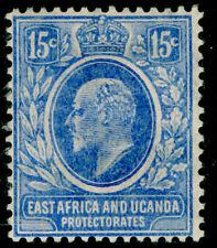 KENYA UGANDA TANGANYIKA SG39, 15c brt blue, M MINT. Cat £32.