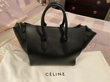 100% Authentic Celine Black Medium Tie Knot Bag