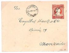 S307 1906 Uruguay *CORREO* Cover Postal Stationery {samwells-covers}PTS