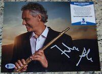 OPERA TENOR LEGEND Andrea Bocelli Signed Autographed 8x10 Photo Beckett BAS COA!