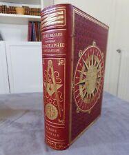 ELISEE RECLUS / NOUVELLE GEOGRAPHIE UNIVERSELLE 3 : L'EUROPE CENTRALE / 1884