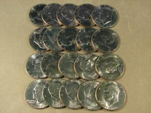 1975-D Eisenhower Dollar Uncirculated Roll Of 20 Coins