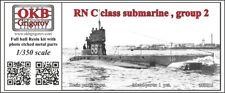 1/350 RN C class submarine , group 2