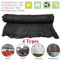 4 Sizes UV BLACK 30%-90% Shadecloth Domestic Heavy Duty Shade Cloth  ♪ I