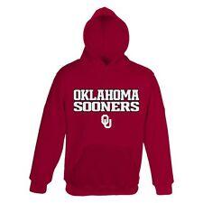 ($40) Oklahoma Sooners Jersey HOODIE/HOODY Sweatshirt YOUTH KIDS BOYS (xl)
