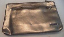 Buxton Cosmetic Zipper Bag,Gold