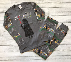 NWT Hanna Andersson Star Wars Darth Vader Long Johns Pajamas 140 Cm 10 Y