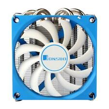 Jonsbo HP-400 CPU Cooling Fan HTPC Case All-In-One PC 4 Heat Pipes Radiator Fans