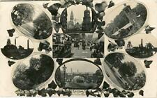 REAL PHOTOGRAPHIC MULTIVIEW POSTCARD OF SHEFFIELD, WEST YORKSHIRE