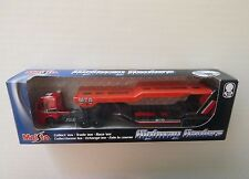 Maisto, Highway Haulers Car Transporter, 1:64 scale, Diecast and Plastic, New