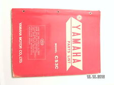 Yamaha   CS3C   parts list  book manual             (#6)