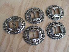 concho buckles western cowboy prairie boho belt ornaments set