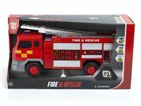 Fuego & Rescate Motor Con Parpadeante Luces Sonidos & Fricción Niños Juguete