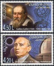 Moldova 2009 Europa/Astronomy/Galileo/Space/Stars/People/Observatory 2v (n44404)
