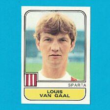 VAN GAAL - STICKER FOOTBALL PANINI VOETBAL 82 - 1982 - SPARTA - VERY RARE