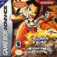 Shaman King: Legacy of Spirits -- Soaring Hawk - Game Boy Advance GBA Game