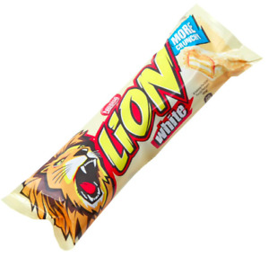Nestle Lion White Chocolate Bar 40 x 42g Best Before End
