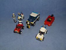 LEGO EMERGENCY VEHICLES POLICE FIRE + CAR SETS