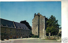 Belgique - cpsm - STAVELOT - Bâtiment de 1714 et reste de la tour de l'abbatiale