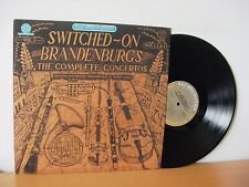 """WENDY CARLOS """"Switched On Brandenburgs"""" Audiophile MASTERSOUND LP CBS HM 45951"""