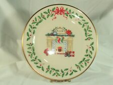 Lenox Boxed Annual Holiday Collector'S Plate 1993 3rd in series, Made In Usa