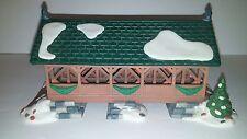 Department 56 Two Rivers Bridge Heritage Village Collection Porcelain