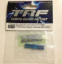 NEW TAMIYA 42118 3x32mm Blue Titanium - Turnbuckle Shaft (2 pcs)