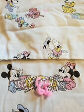 NEW WITH TAGS DISNEY X JUNK FOOD TARGET WHITE MICKEY MOUSE PRINT BABY BLANKET