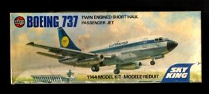 Airfix. Sky King. 1/144. Boeing 737. VG Condition. All Parts Checked, NO DECALS.
