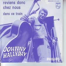 CD 2 titres JOHNNY HALLYDAY *** REVIENS DONC CHEZ NOUS et DANS CE TRAIN  n°80